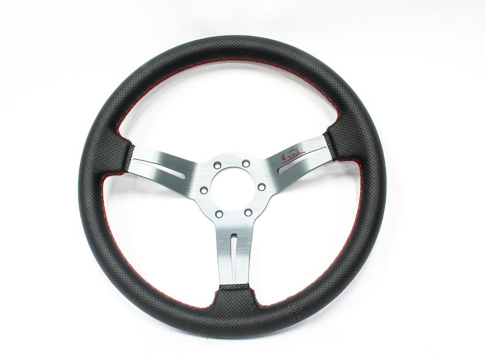 Nardi Black & Red Sport Steering Wheel