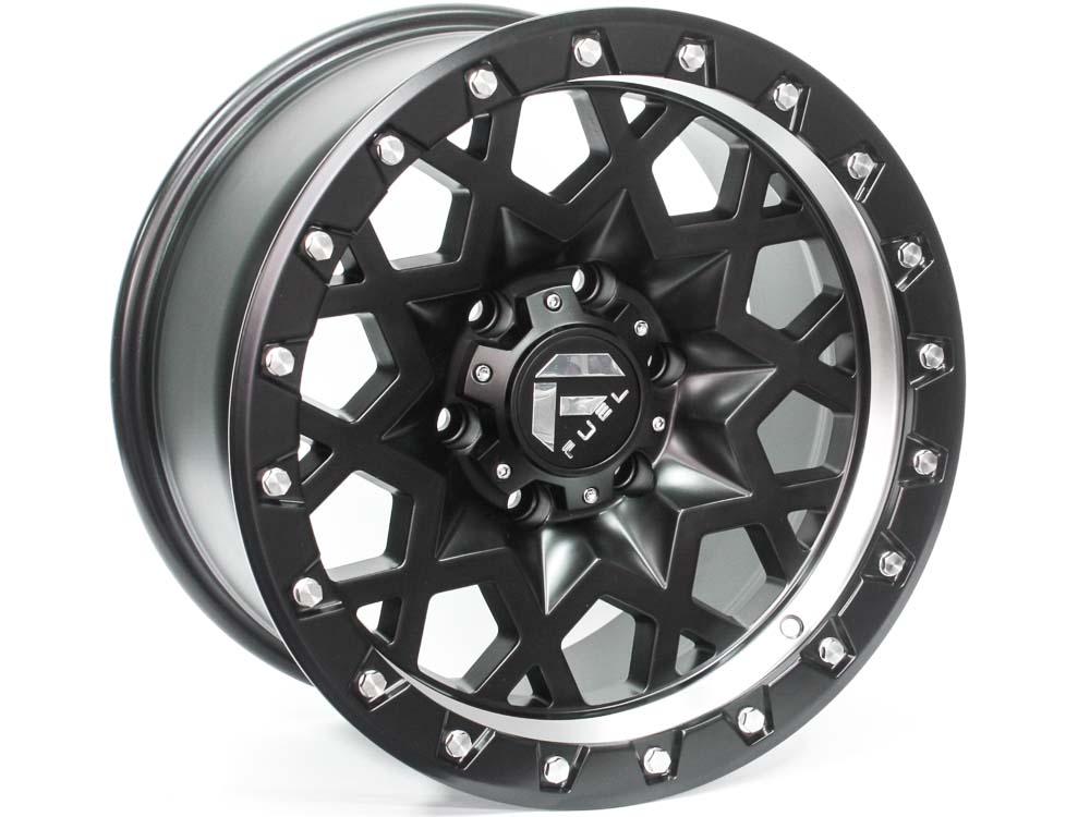 17″ Axe Blackbolt 6/139 SB Alloy Wheels