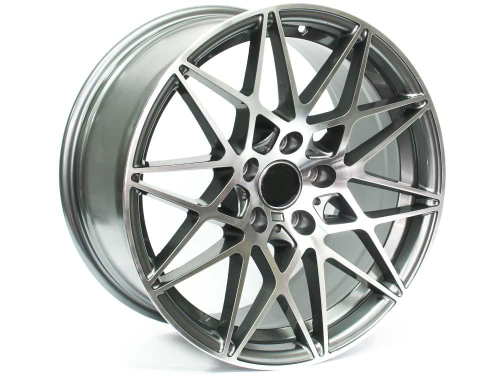 18″ ST 1659 5/120 Gunmetal Alloy Wheels