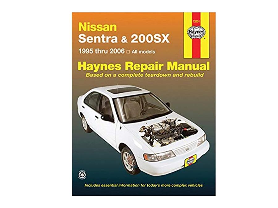 Haynes Workshop Manual for Nissan Sentra/200SX