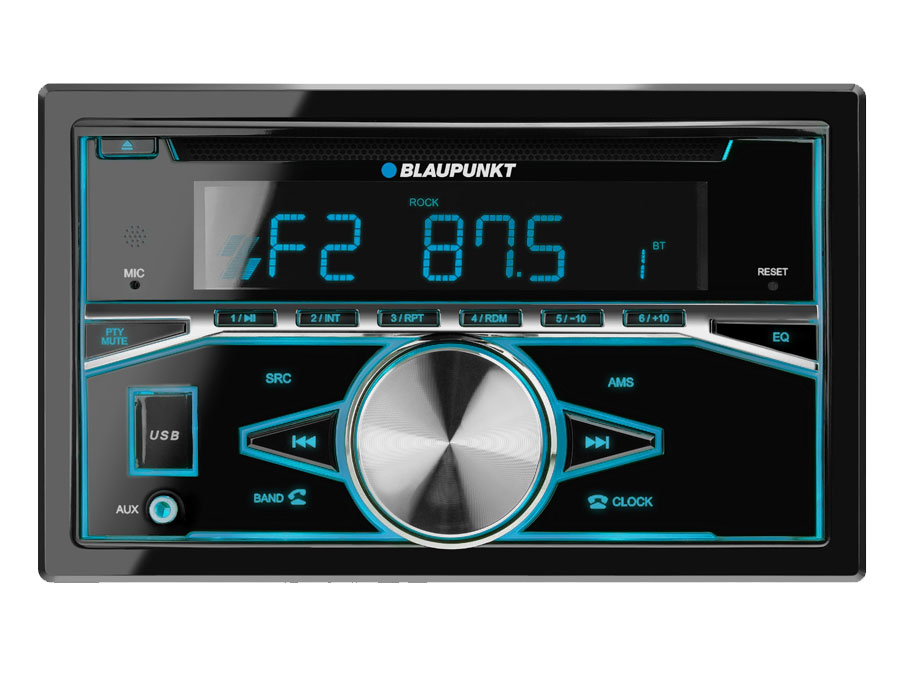 Blaupunkt Double Din with Bluetooth, Mp3 & USB