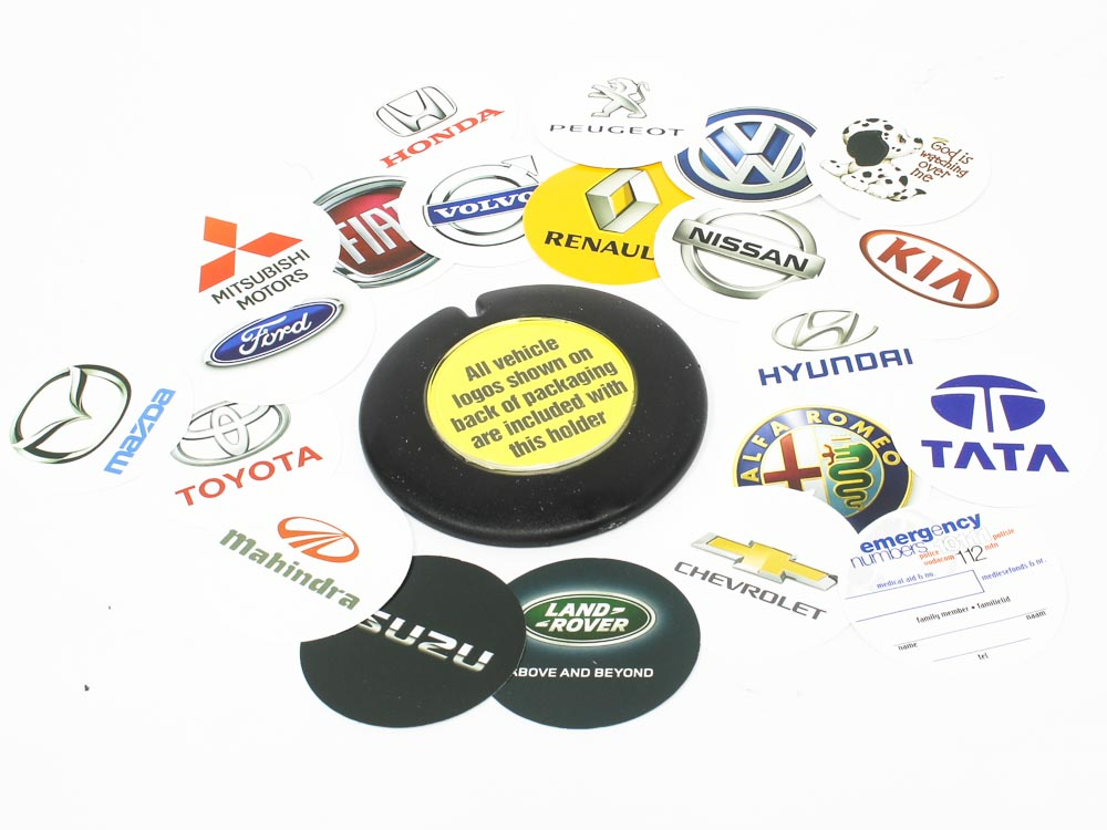 Rubber License Disc Holder