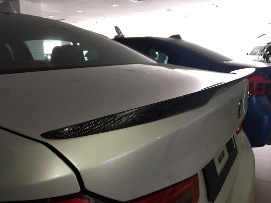 Evo G30 M Performance Carbon Fibre Bootspoiler
