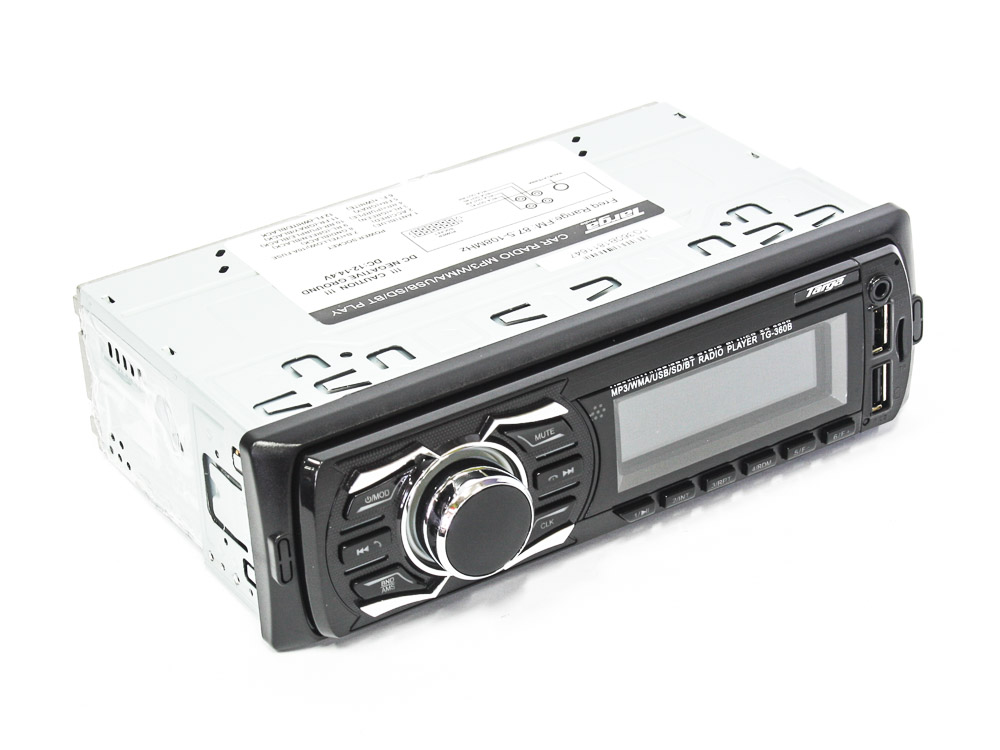 Targa TG-360B Media Player with Dual USB & Bluetooth