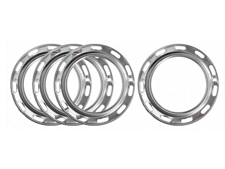 VW Aircooled Aluminium Wheel Trim Set