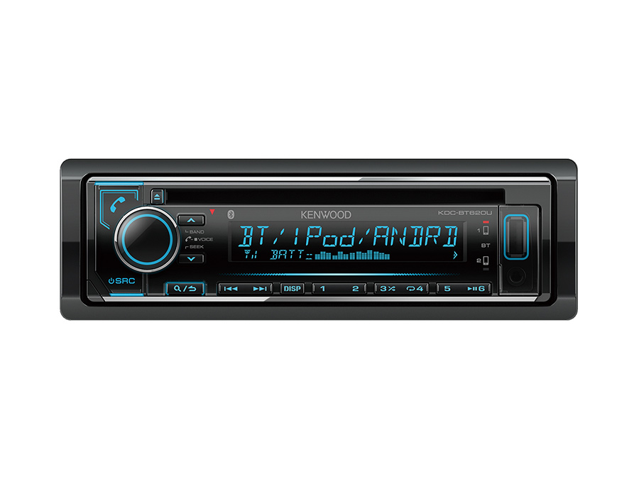 Kenwood KDC-BT620U Mp3 Cd Receiver with USB & Bluetooth