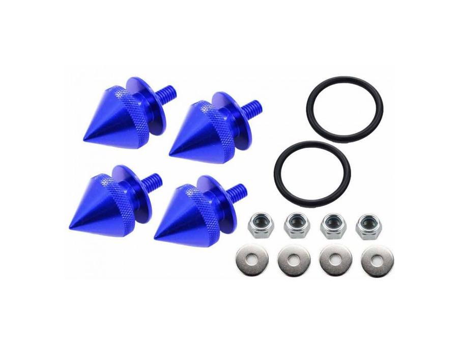 Bumper Quick Release Clips (blue spike)