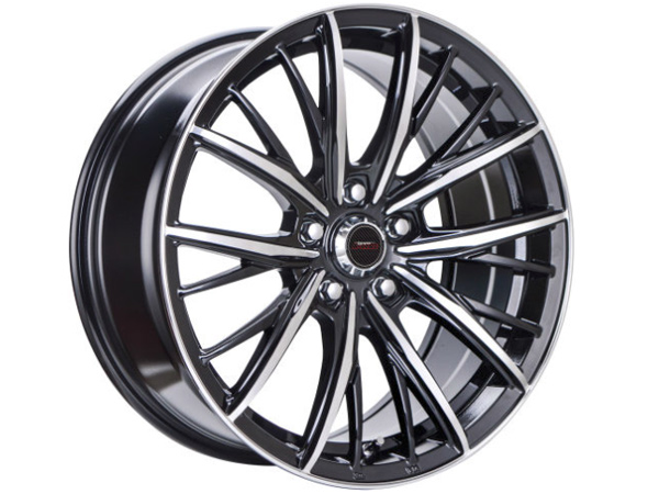 17″ A-Line Iconic 5/114 BKMF Alloy Wheels