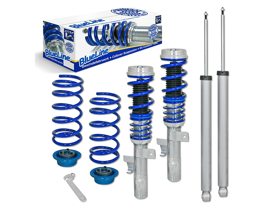 JOM Blue Line Coilover Suspension Kit for VW Golf Mk5/Mk6