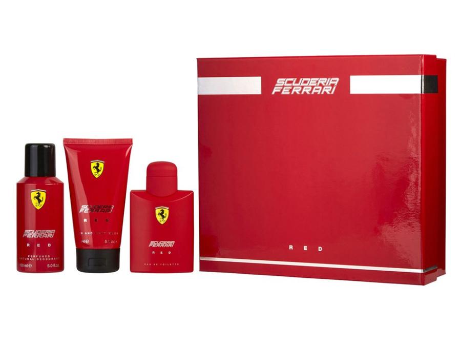 Ferrari Red Gift Set