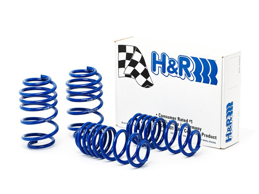 H&R Lowering Suspension Springs for VW Golf Mk5/Mk6 Gti - 30mm drop