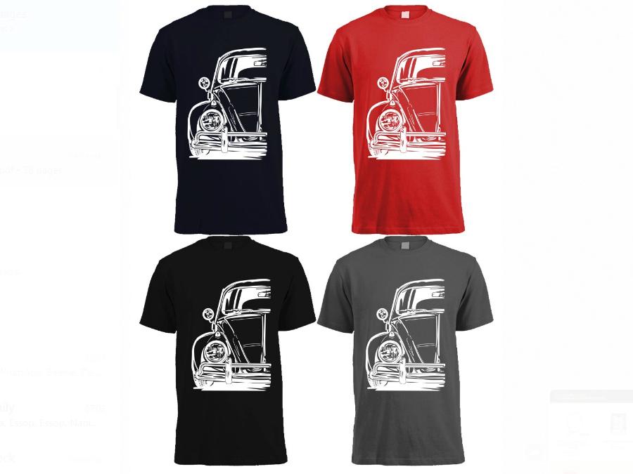 VW Classic Beetle T-Shirt (4-5 year kiddies size)