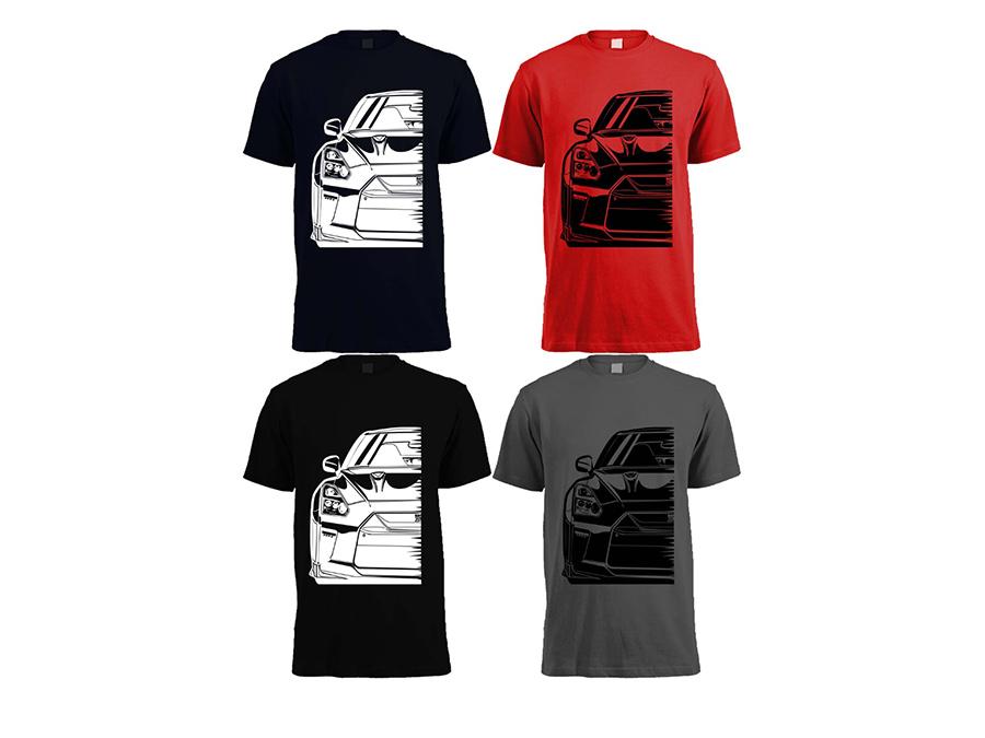 Skyline Silhouette Tshirt (X Large Size)