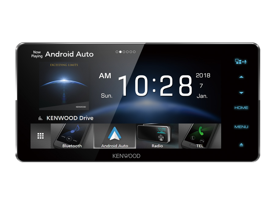 Kenwood DDX918WSM Mobile Multimedia System with Bluetooth & Android Auto