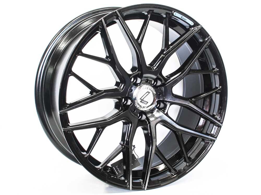 19″ Lenso Conqa Avid 5/112 BKMF Alloy Wheels