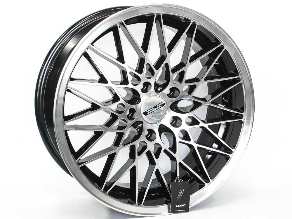 17″ Lenso Eurostyle G 5/112 BKMF Alloy Wheels