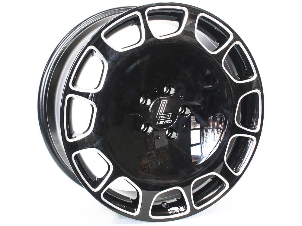 19″ Lenso Maybach 5/112 BKMF Alloy Wheels