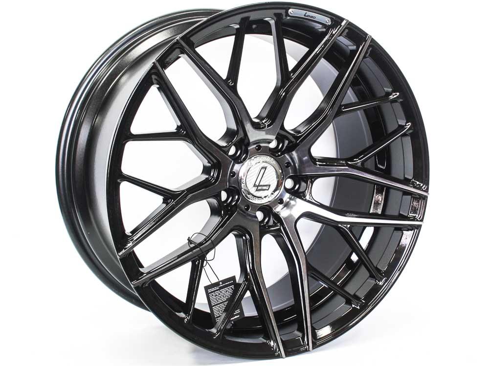 19″ Lenso Conqu Avid 5/120 BKMF Alloy Wheels
