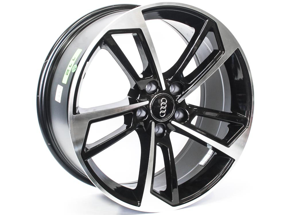 17″ Axe AV-34-A 5/112 BKMF Alloy Wheels