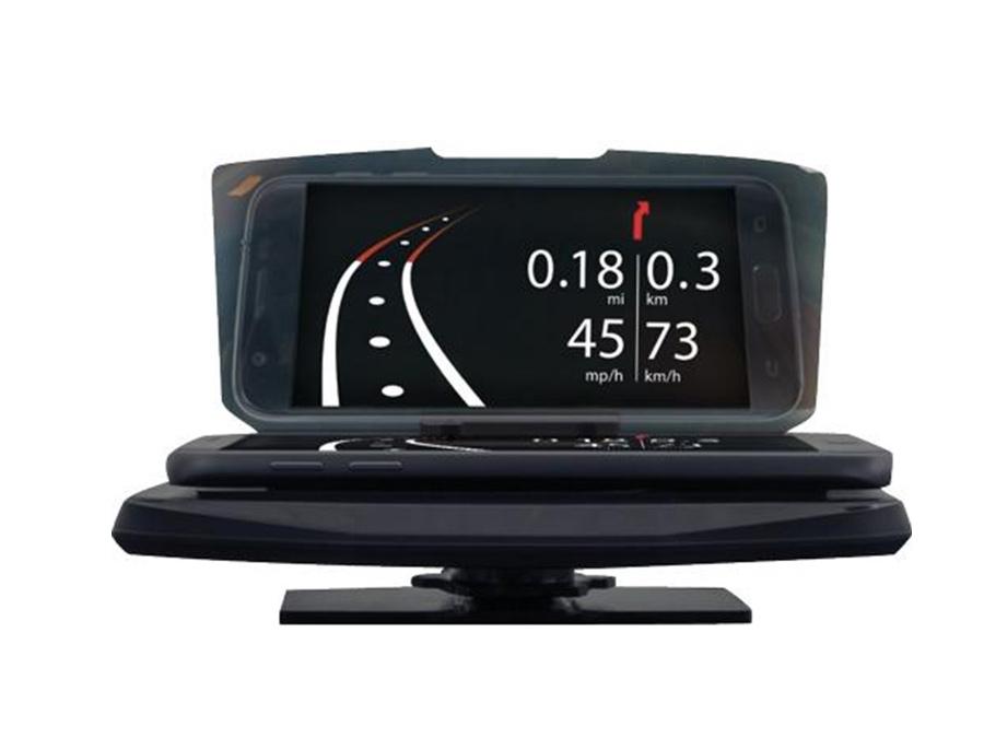 Smartphone Holder display for HUD Navigation
