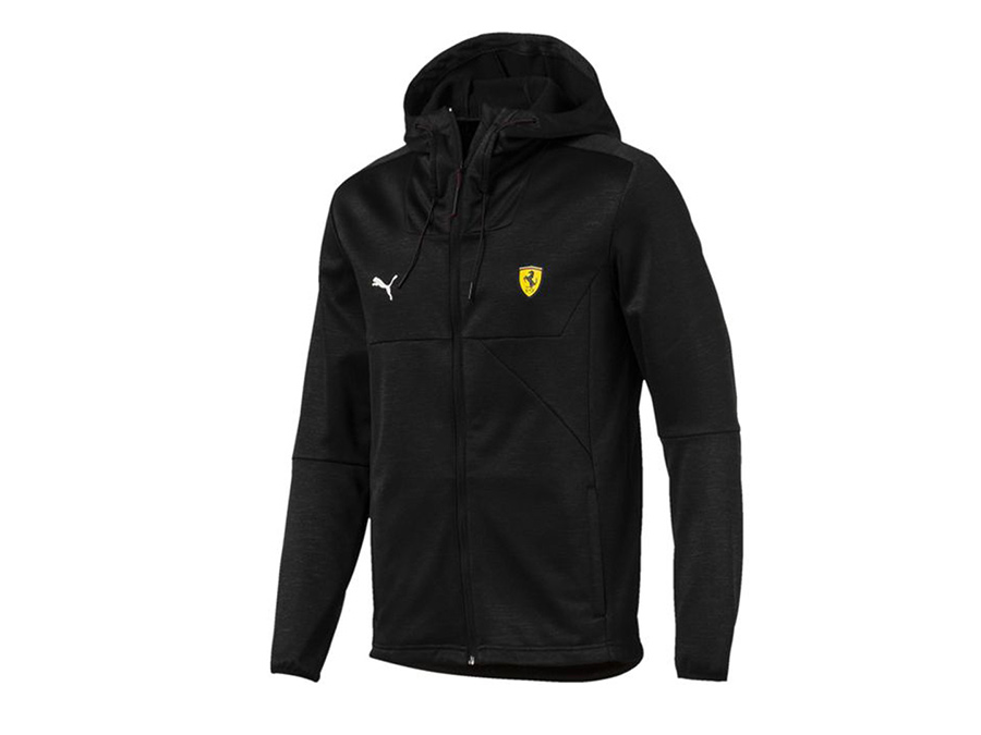 Puma Ferrari Jacket - Black (large)