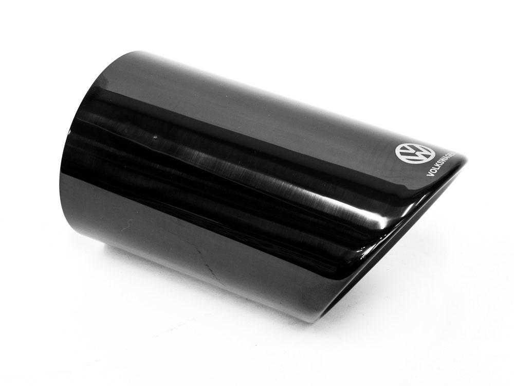 Clip-On Exhaust Tailpipe - Volkswagen - Black
