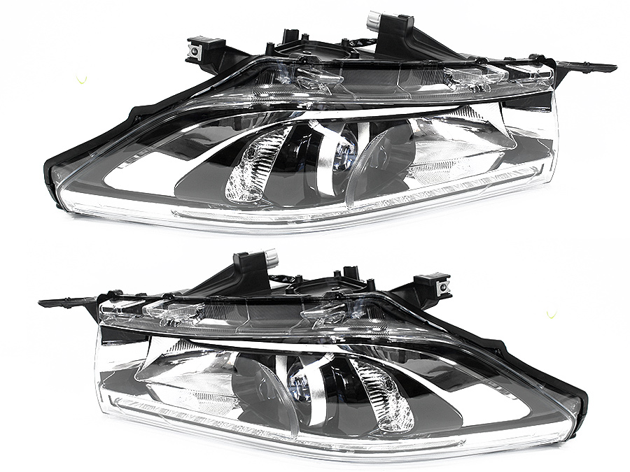 Toyota Hilux Revo 2016+ Headlights with LED (pair)