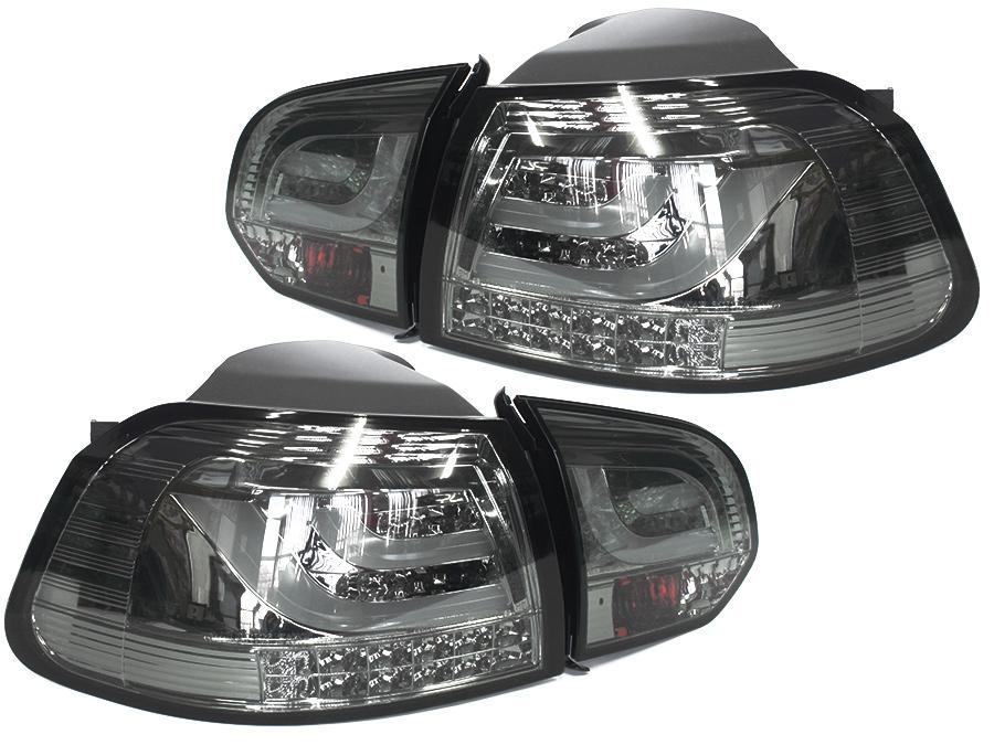 VW Golf Mk6 Full Smoked LED Tailights