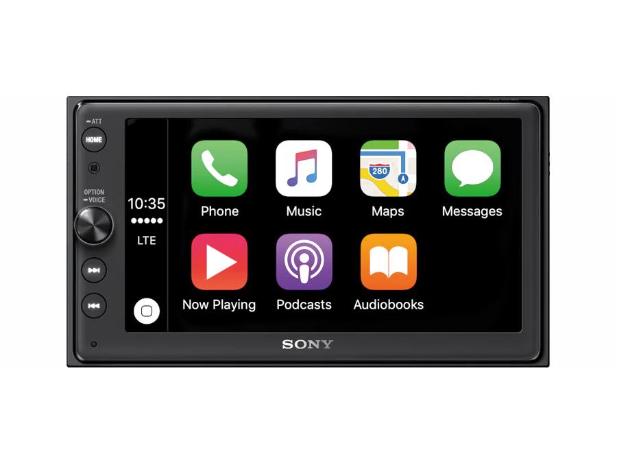 Sony XAV-AX100 6.4″ Media Player with CarPlay & Android Auto & 3 pre-outs