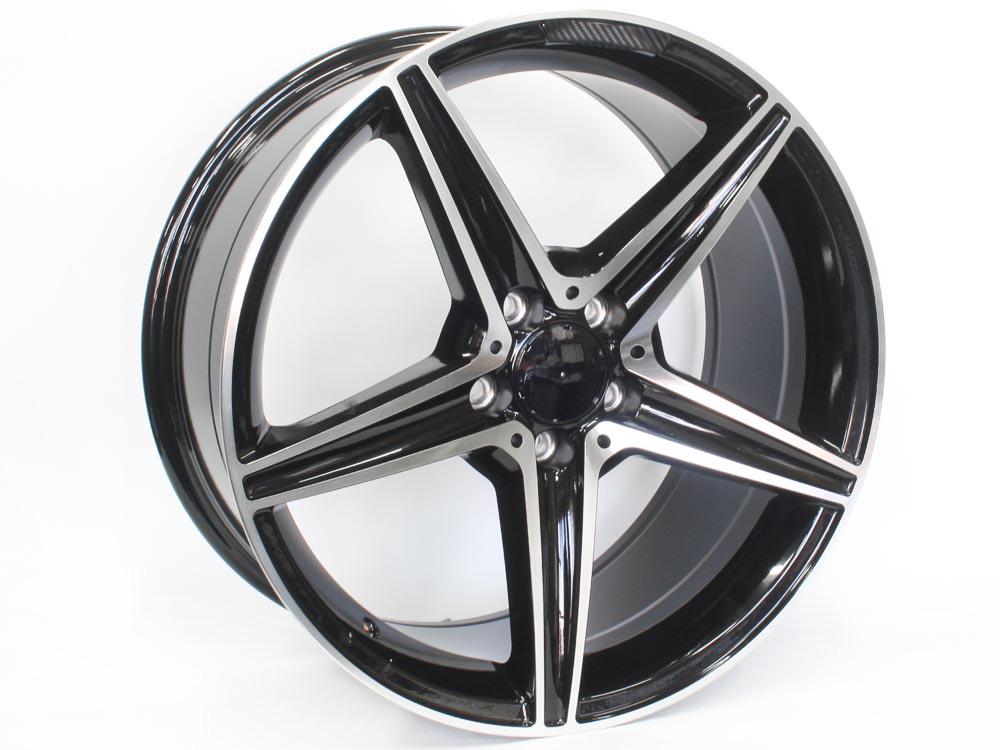 19″ SM1855 5/112 BKMF Alloy Wheels