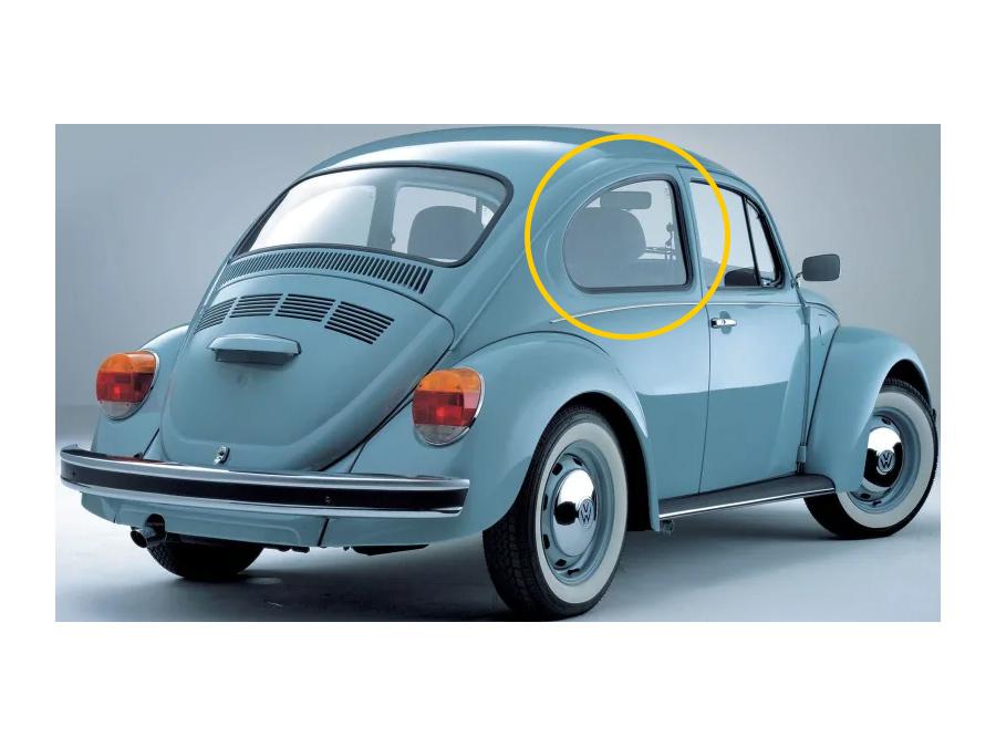 VW Classic Beetle Rubber Kit (rear quarter window)