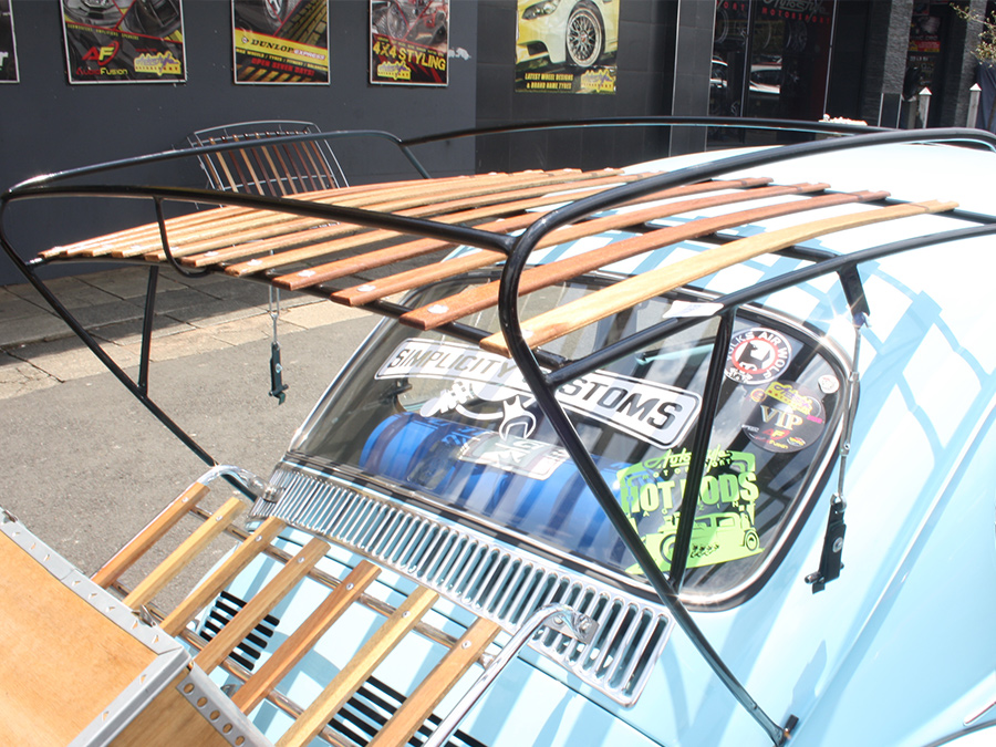 VW Classic Beetle Rear Roof Rack