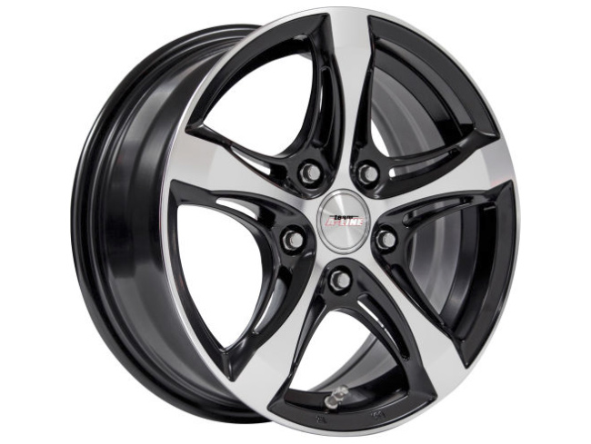 14″ A-Line Ashton 4/100 & 4/108 BKMF Alloy Wheels