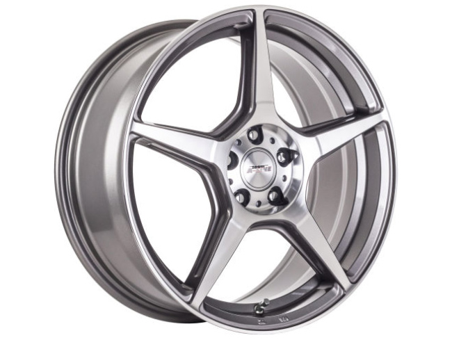 15″ A-Line Ashanti 4/100 & 4/108 GMMF Alloy Wheels