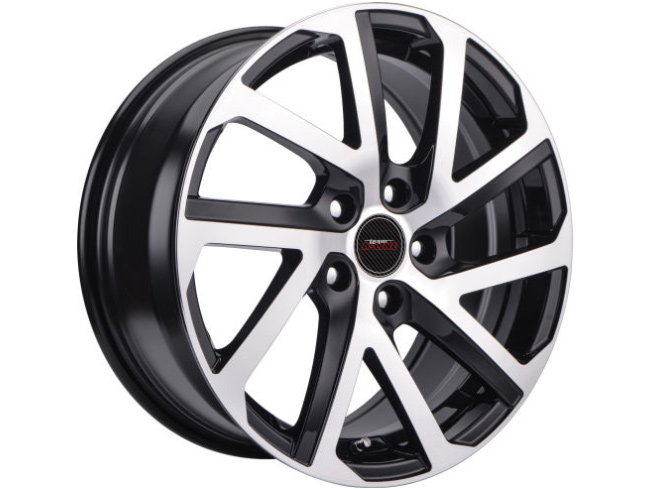 16″ A-Line Gear 5/100 BKMF Alloy Wheels