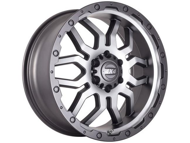 20″ A-Line Mudzilla 6/139 CHGMF Alloy Wheels