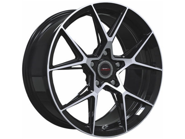 19″ A-Line Exile 5/114 BKMF Alloy Wheels