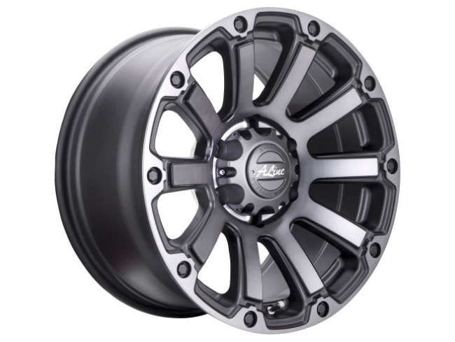 17″ A-Line Destroyer 6/139 Matt CHG Alloy Wheels