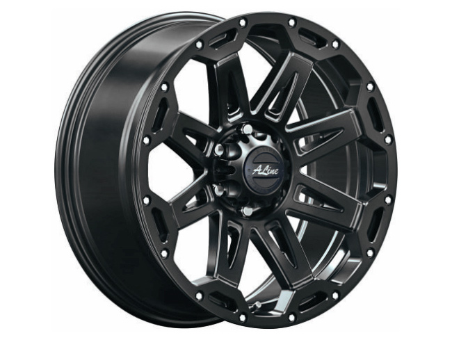 18″ A-Line Duke 6/139 STBLK Alloy Wheels