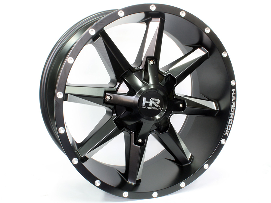 20″ Axe Gladiator Black 6/139 Alloy Wheels