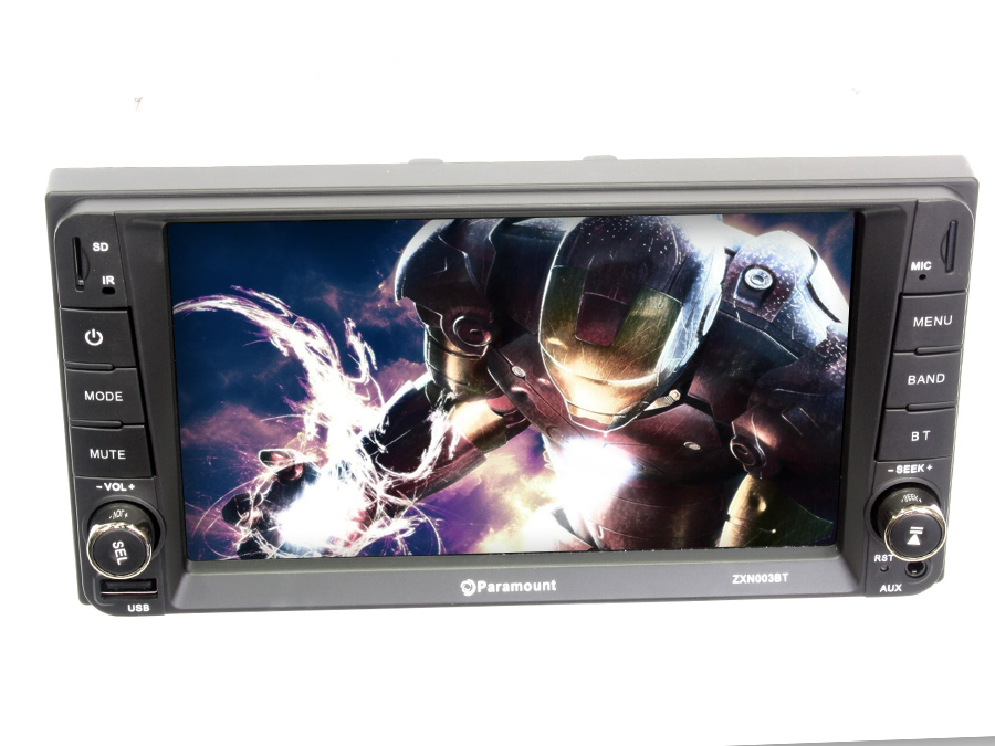 Paramount ZXN003BT Double Din DVD with Bluetooth