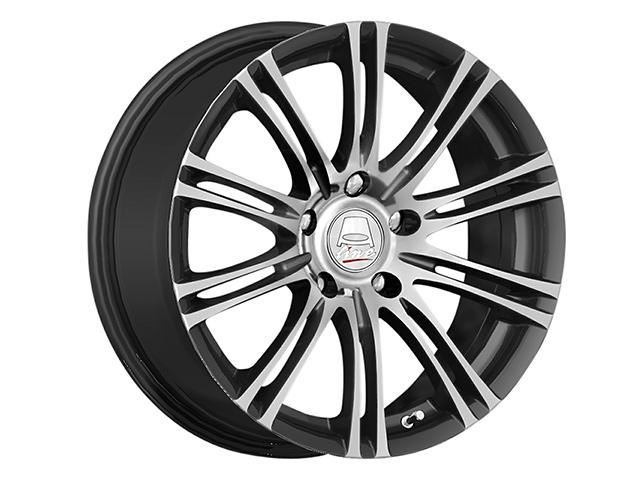 14″ A-Line Tango 4/100 & 4/108 Matt CHG Alloy Wheels