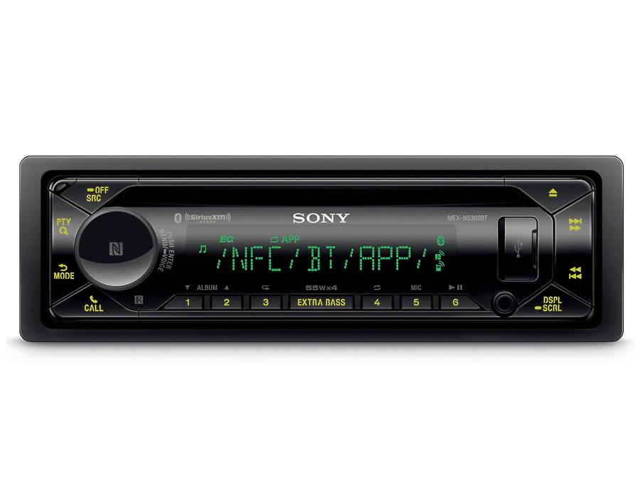 Sony MEX-N5300BT Mp3 Cd with Bluetooth & USB