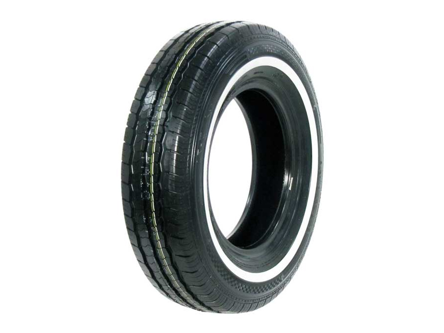195R15C Radar White Wall RLT71 Tyres