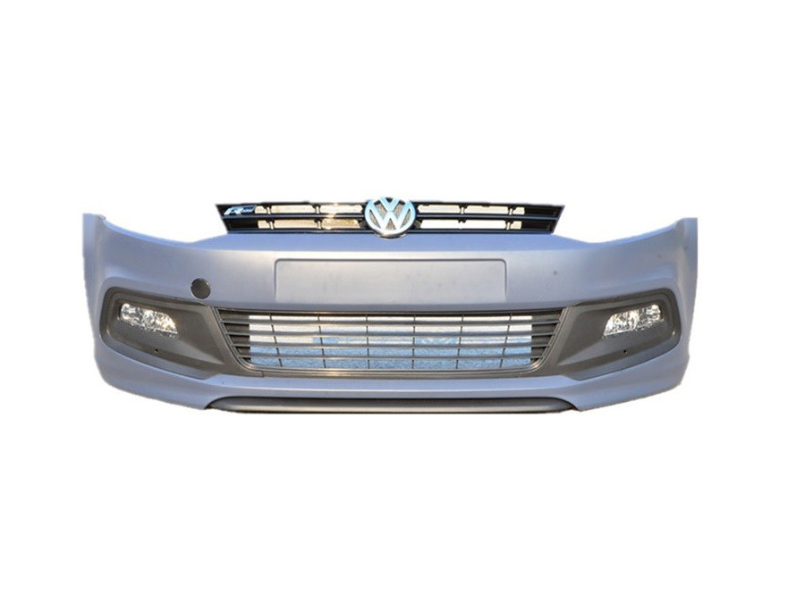 VW Polo 6R R-Line Style Front Bumper with spoiler