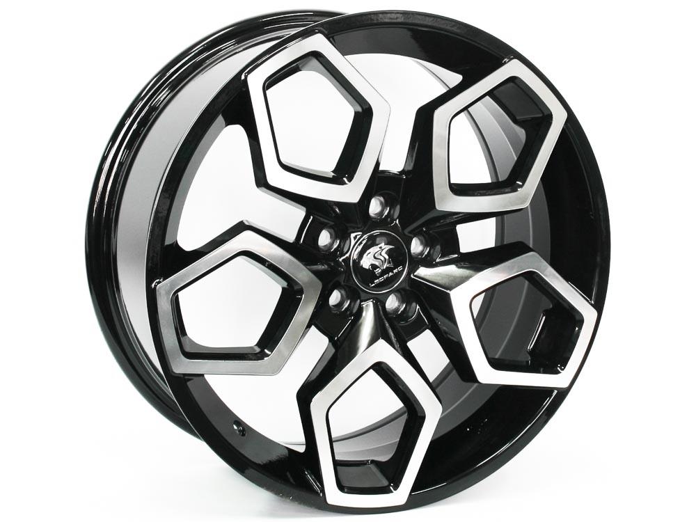 17″ SM2463 5/100 BKMF Alloy Wheels