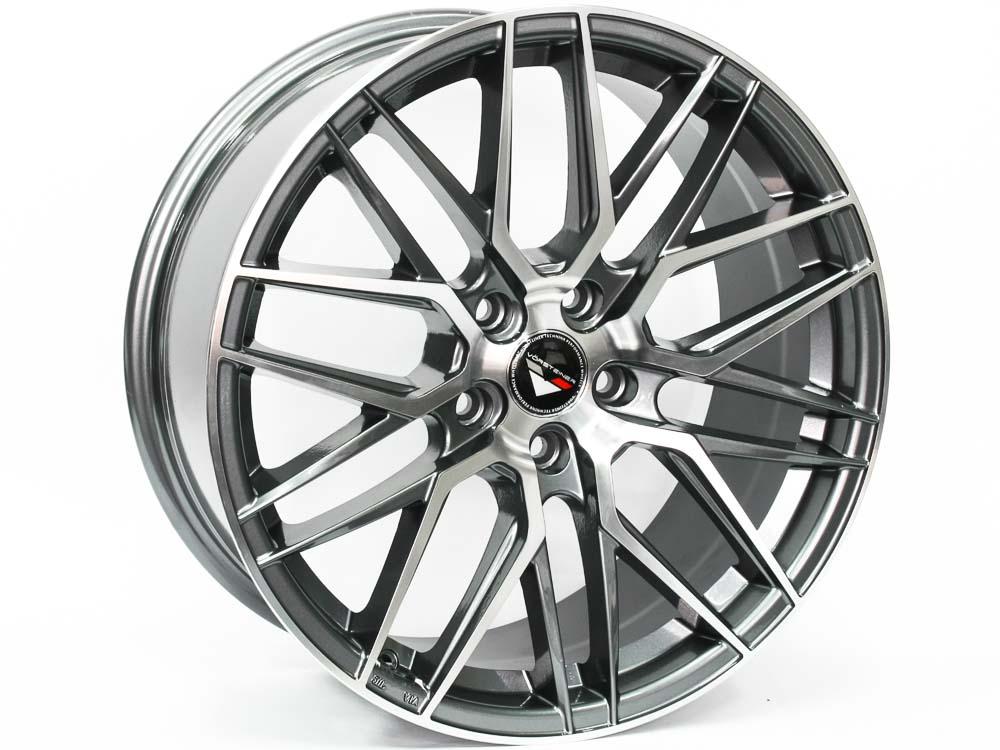 18″ Axe V-7 5/112 GMMF Alloy Wheels