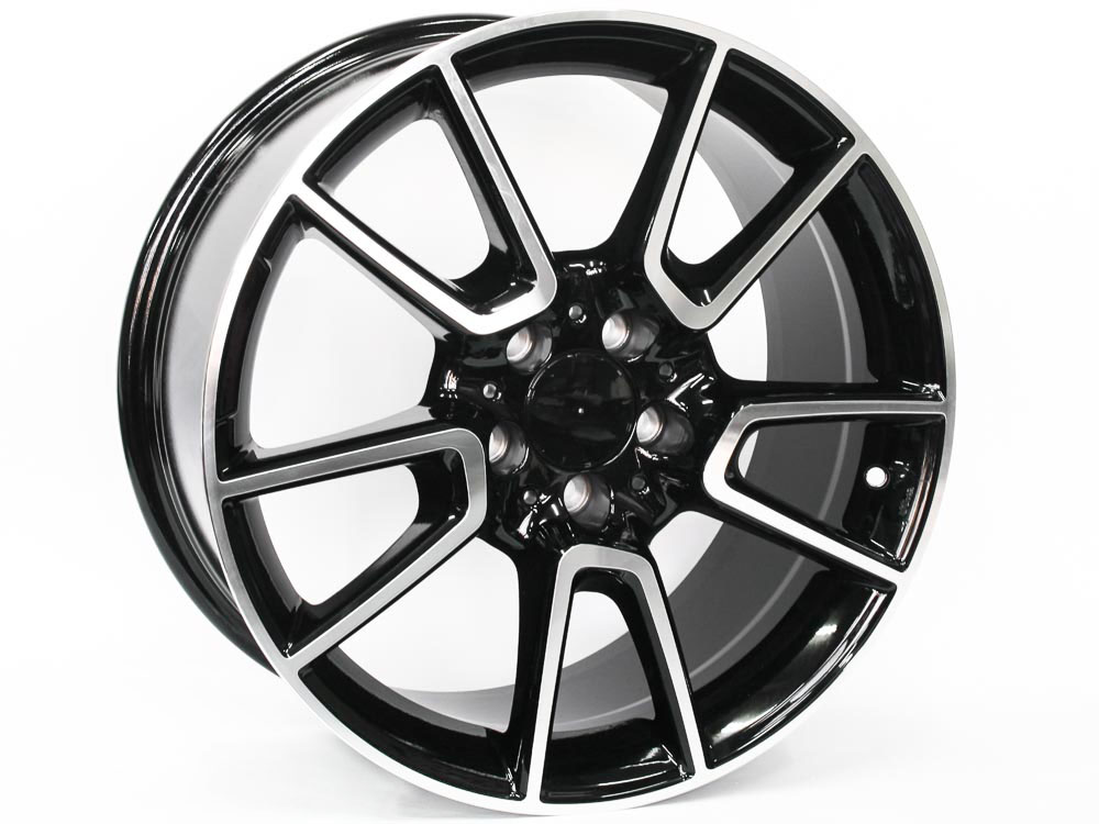 18″ R-Line Azm023 5/112 BKMF Alloy Wheels