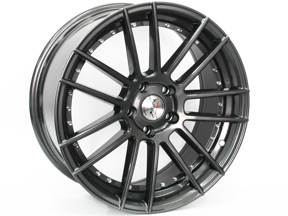18″ ST Crystal 5/112 Grey Alloy Wheels