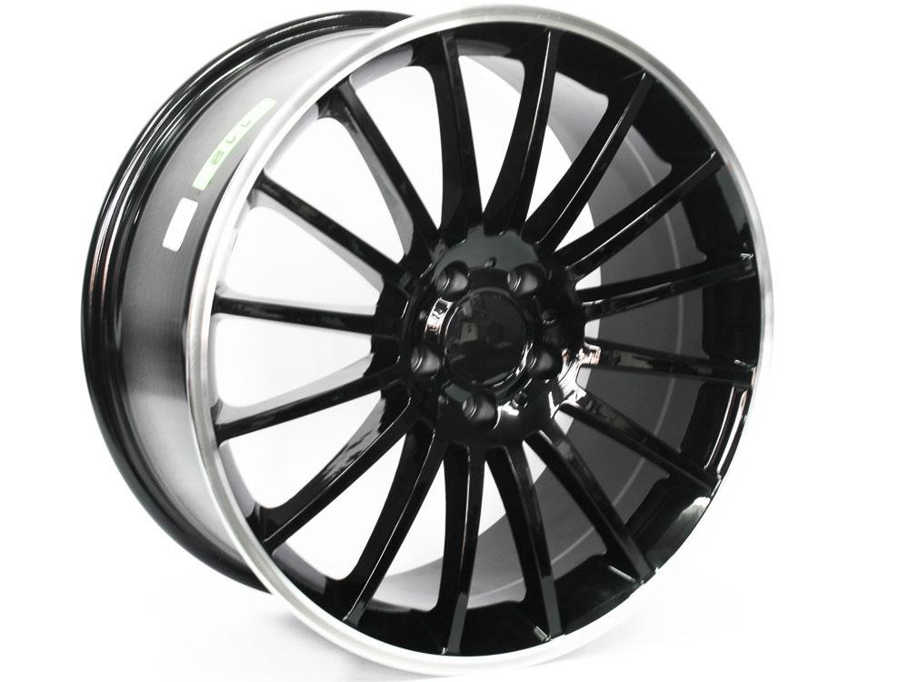 19″ R-Line 1224 5/112 BKML Alloy wheels